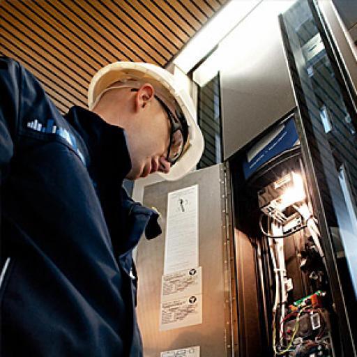 Услуги в рамках договора на техническое обслуживание лифта